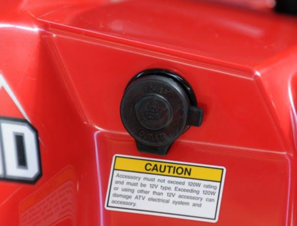SUZUKI KINGQUAD 400 FSI 4x4 dc power outlet