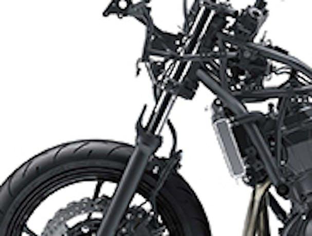 KAWASAKI NINJA 650 front suspension