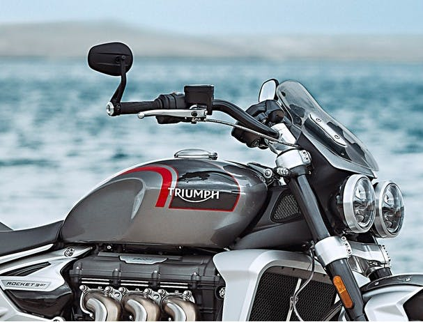 Triumph Rocket 3 GT fly screen