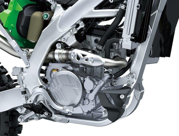 KawasakiI KX250 engine