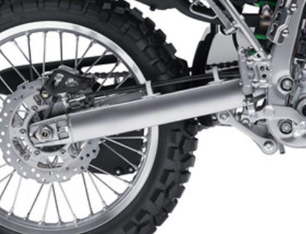 Kawasaki KLX250S frame