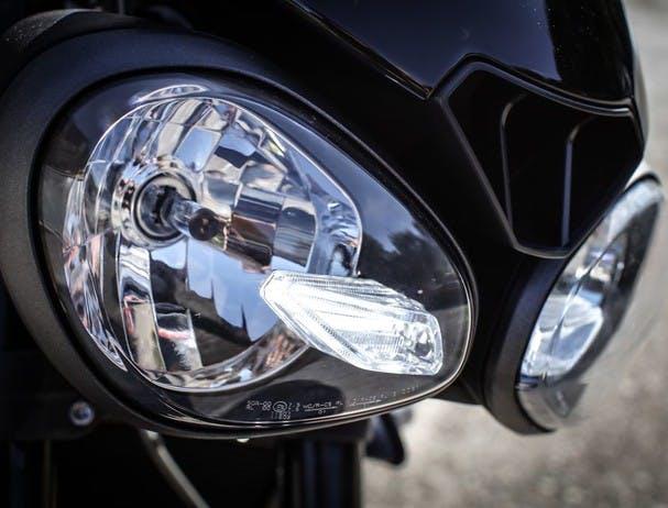 Triumph Street Triple R DRL headlight