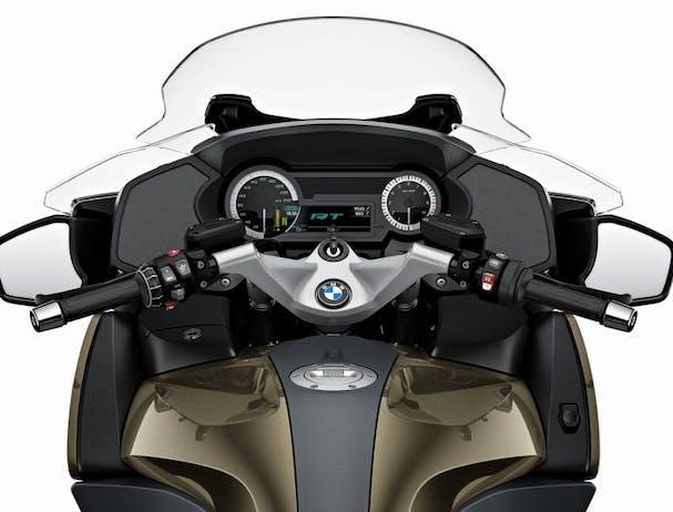 BMW R 1250 RT Option 719 TFT display