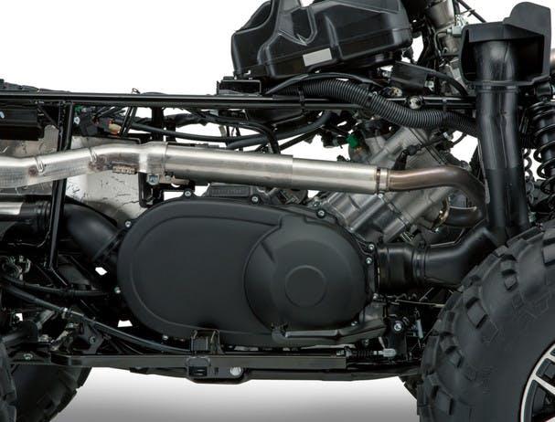 SUZUKI KINGQUAD 500AXI 4x4 engine
