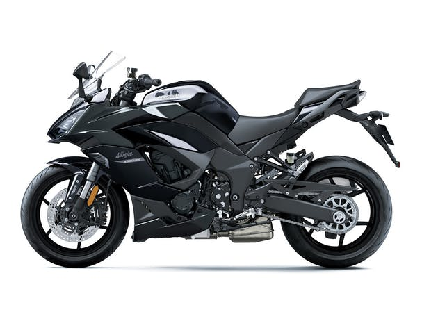Kawasaki NINJA 1000SX in Metallic Carbon Gray with Metallic Diablo Black colour