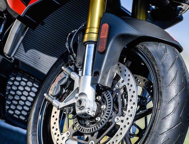 Aprilia Tuono V4 1100 RR suspension