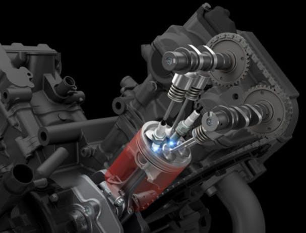 SUZUKI SV650 dual spark technology