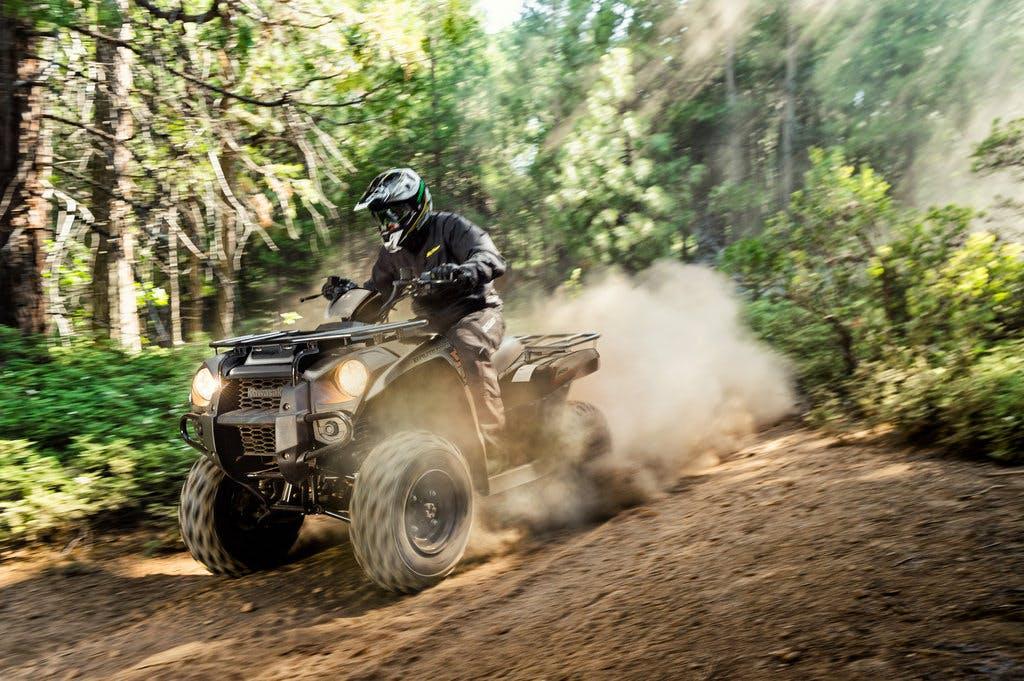 2018 KAWASAKI BRUTE FORCE 300 Being Ridden Off Road
