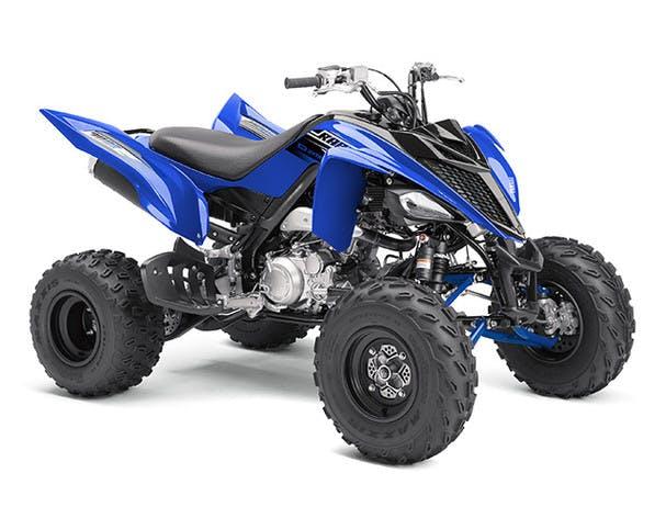 Yamaha YFM700R in team yamaha blue colour