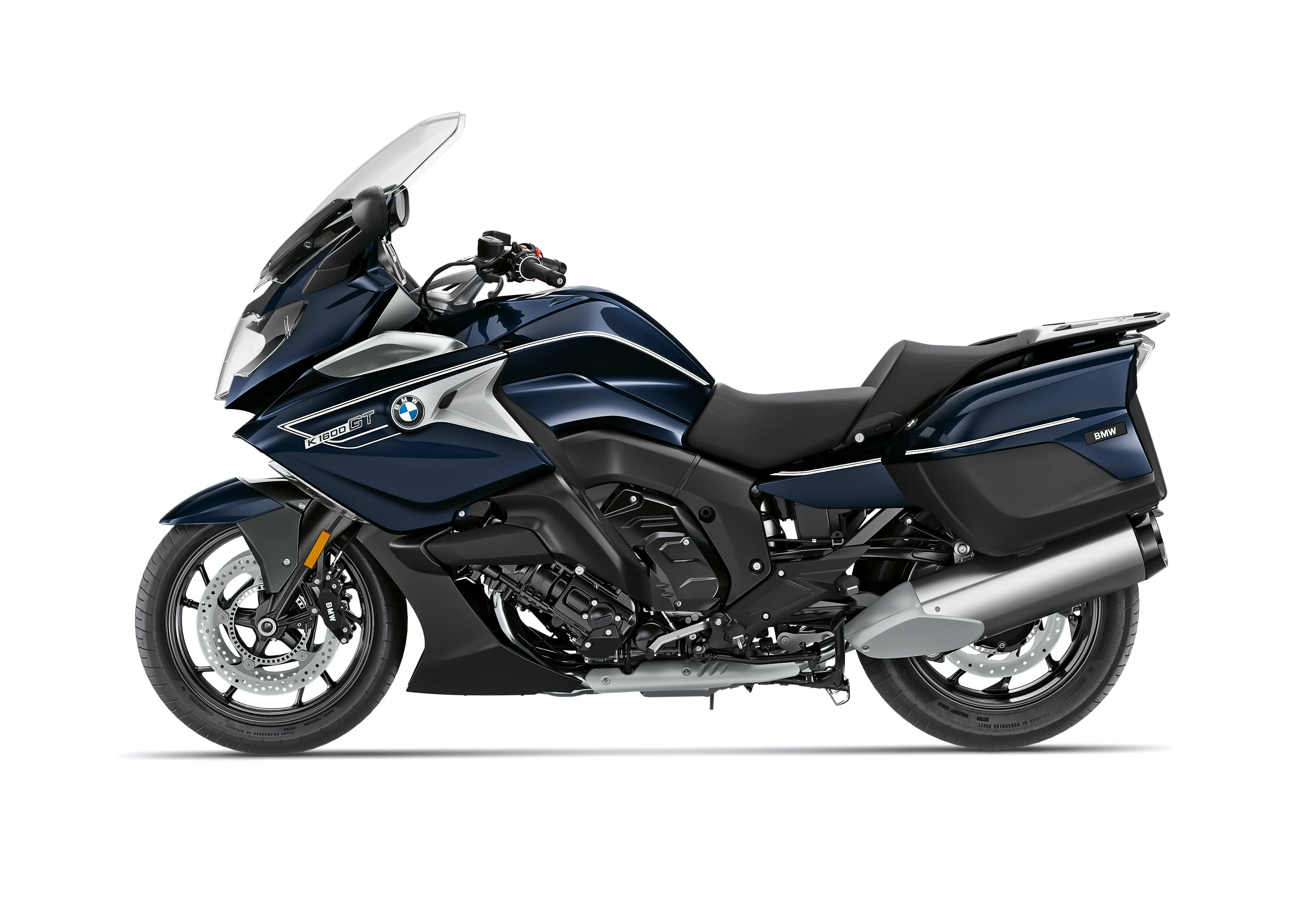 BMW K 1600 GT (Option 719) in Blue Planet Metallic / Ivory colour