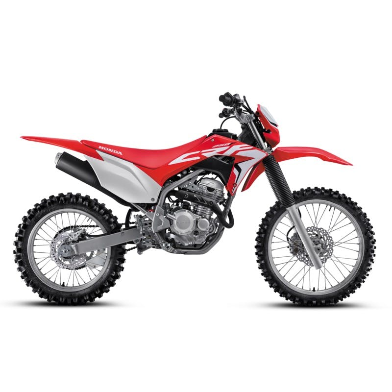 Honda CRF250F in extreme red colour