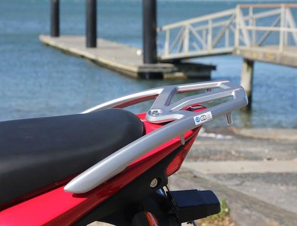 Honda CB125E rear rack