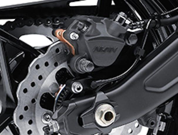 KAWASAKI NINJA 650 rear brake