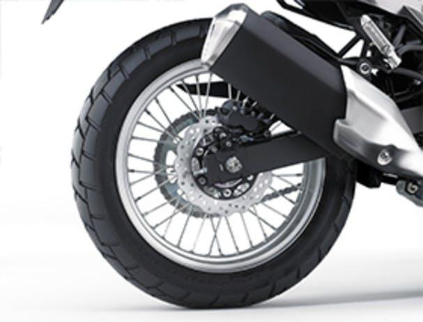 KAWASAKI VERSYS-X 300 rear wheel