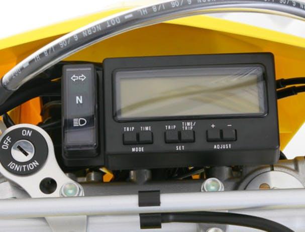 SUZUKI DR-Z400E instrument panel