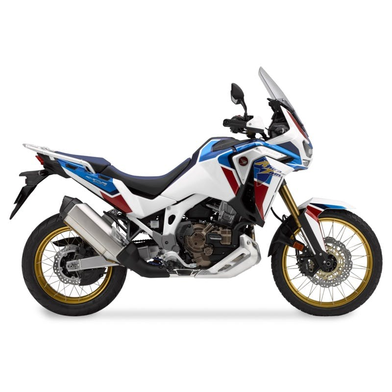 Africa Twin Adventure Sports DCT ES in Pearl Glare White colour