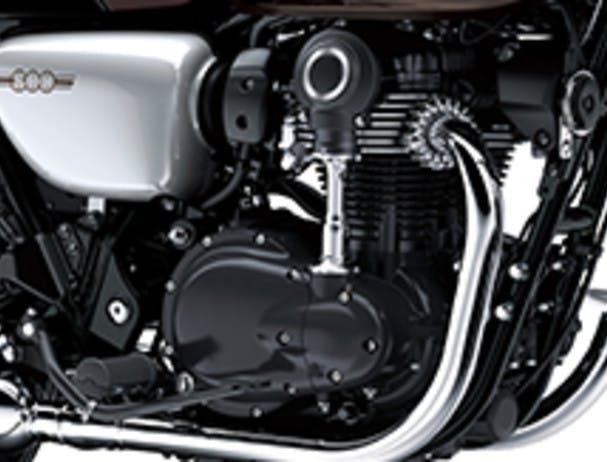 KAWASAKI W800 CAFE engine