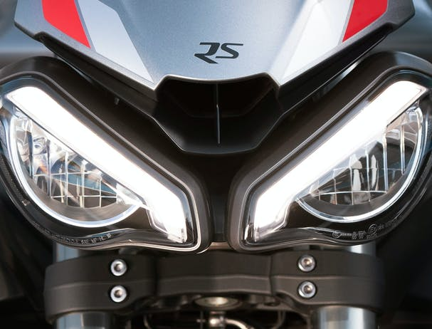 Triumph Street Triple RS Twin LED headlights