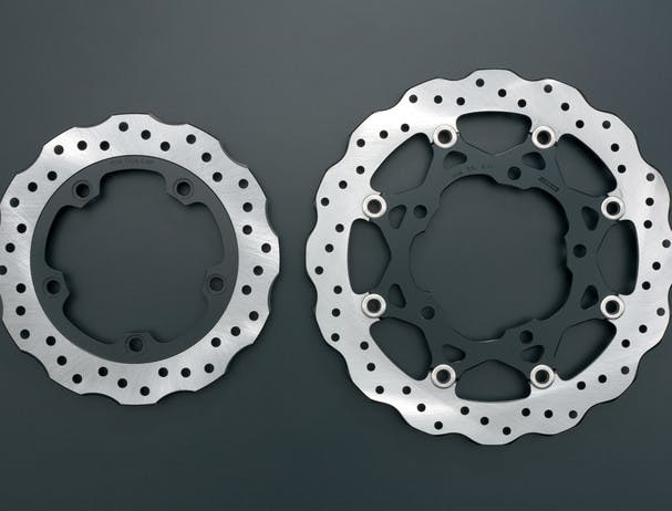 SUZUKI GSX-S750 front and rear discs