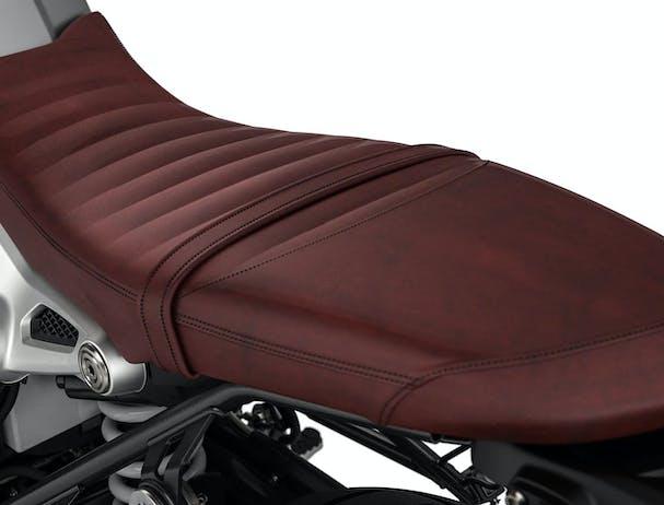 BWM R nineT Scrambler leather seat