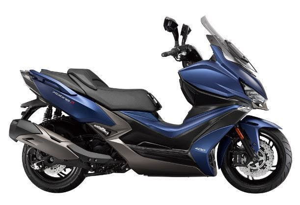 Kymco Xciting S 400i in blue colour