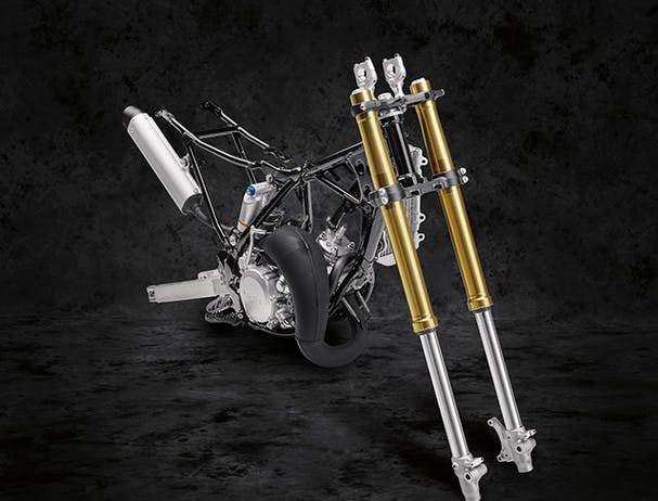 Yamaha YZ85 front forks