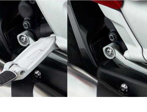 Triumph Rocket 3 R folding footrest