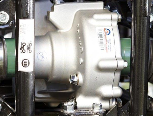Yamaha Grizzly 350 2WD rear sealed drum brake
