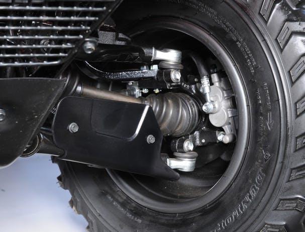 SUZUKI KINGQUAD 300 4x4 front brake