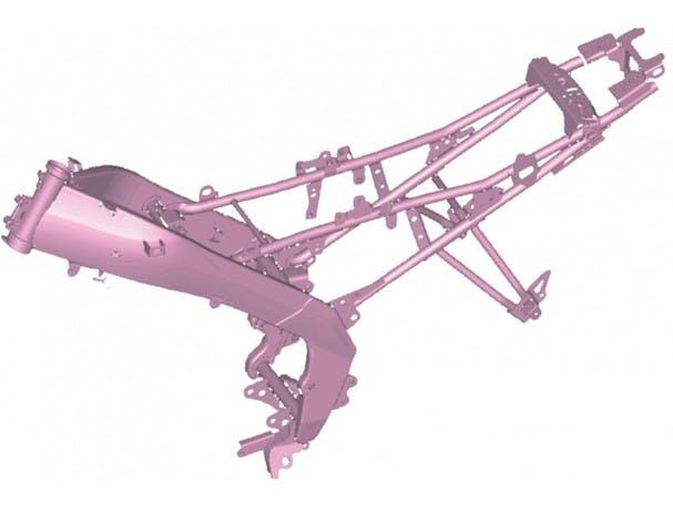 Yamaha YZF-R15 frame