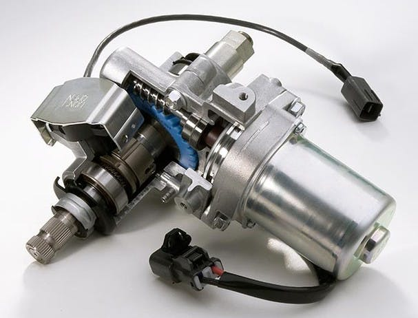 Yamaha Grizzly 700 power steering pump