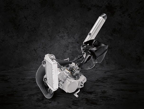 Yamaha YZ85 engine