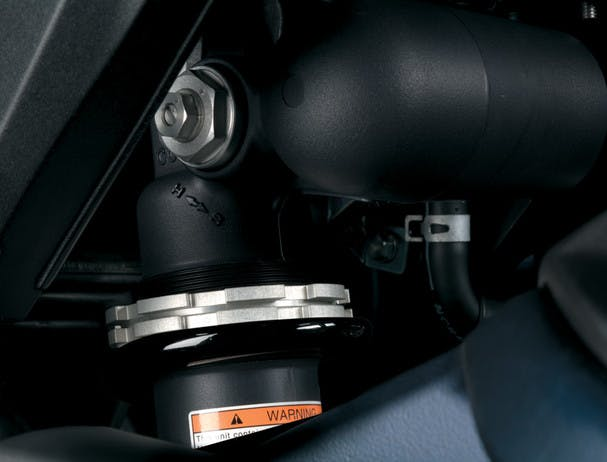 SUZUKI GSX-R600 rear suspension