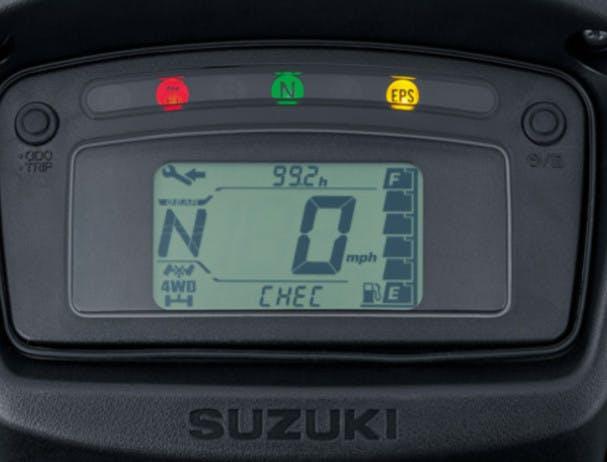 SUZUKI KINGQUAD 500AXI 4x4 instrument panel