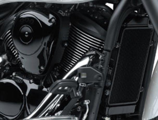 Kawasaki Vulcan 900 Classic's cylinder head