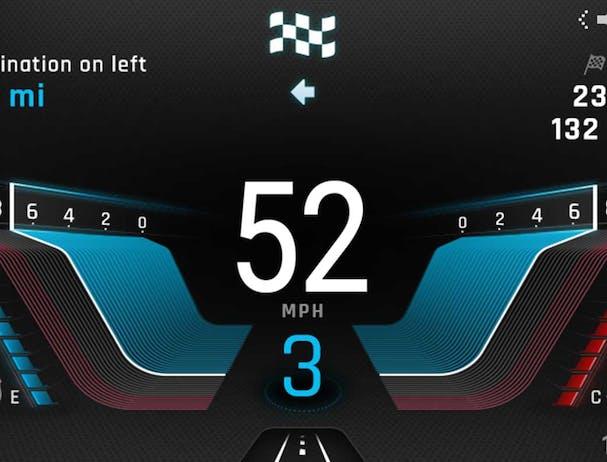 Tiger 900 GT Pro navigation screen