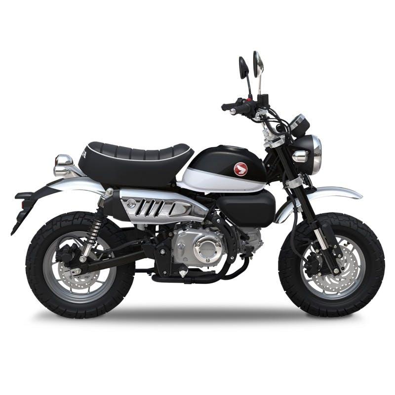 Honda Monkey in Pearl Shining Black colour