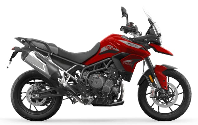 Tiger 900 GT in Korosi Red colour