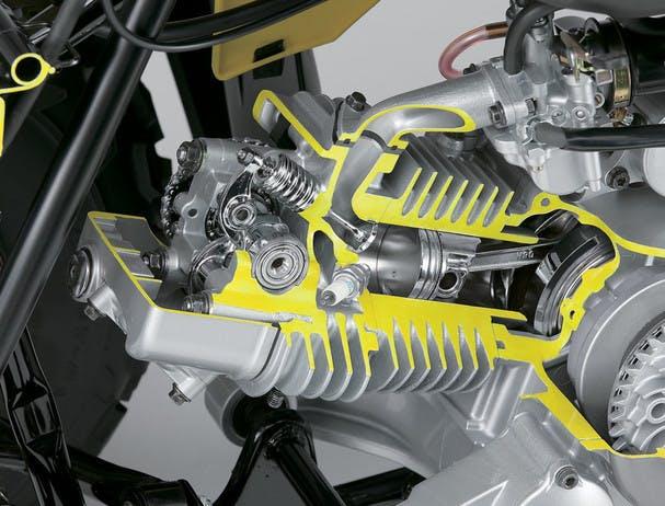 SUZUKI QUADSPORT Z90 engine