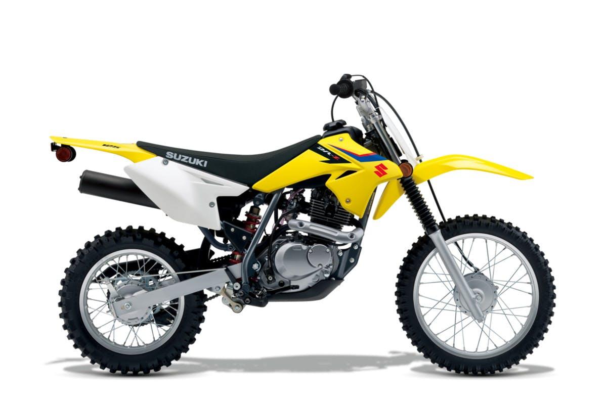 SUZUKI DR-Z125 in champion yellow no.2 colour