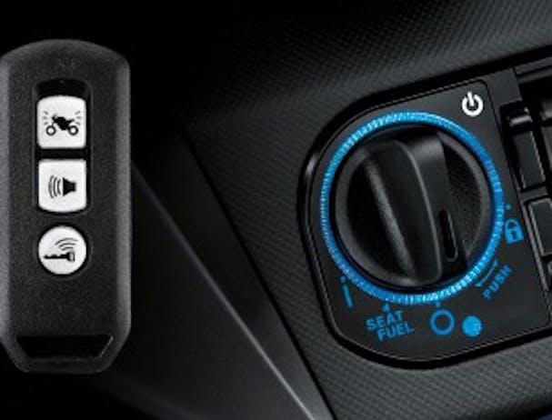 Honda Forza smart key