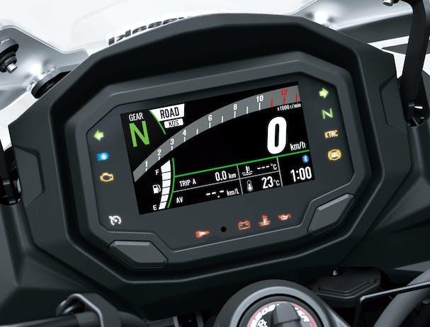 Kawasaki Ninja 1000SX (SE) speedometer