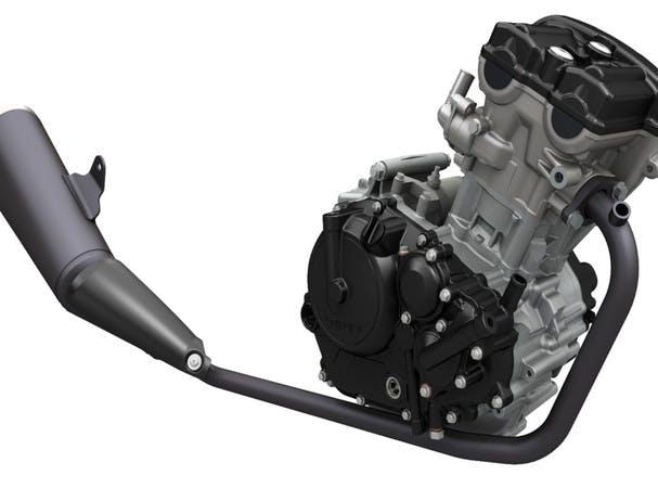 SUZUKI GSX-S125 engine