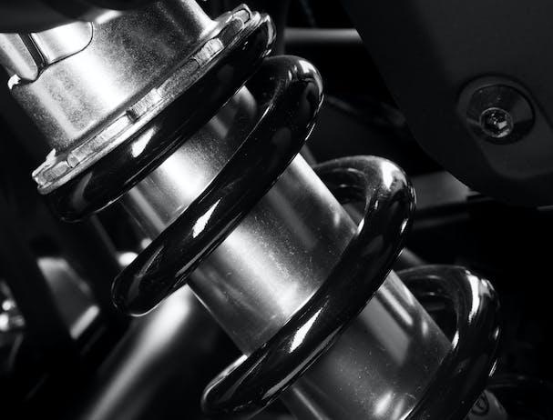 Honda CB500F suspension