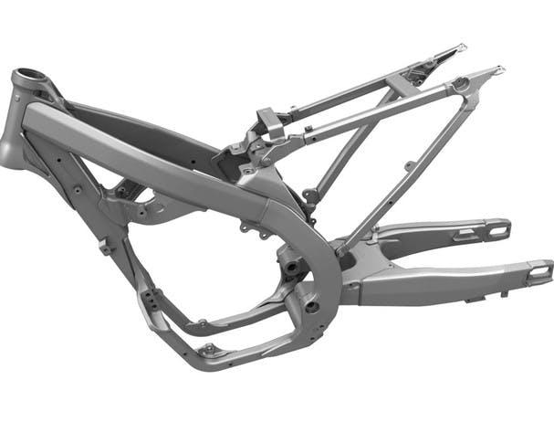 SUZUKI RM-Z450 chassis