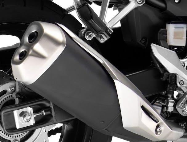 Honda CB500X exhaust