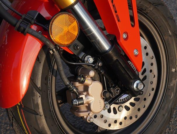 Honda GROM disc brake