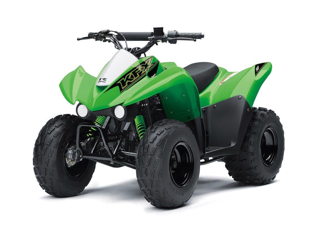 KAWASAKI 2019 KFX90 in lime green colour