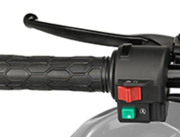 Kawasaki KFX50 grip