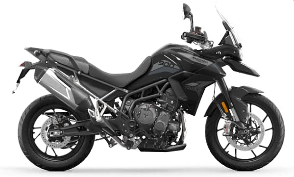 Tiger 900 GT low in Sapphire Black colour
